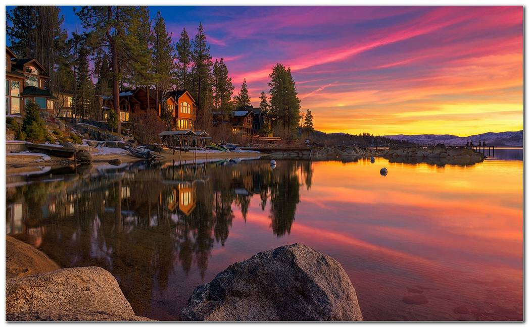 Cool Lake Tahoe Wallpaper