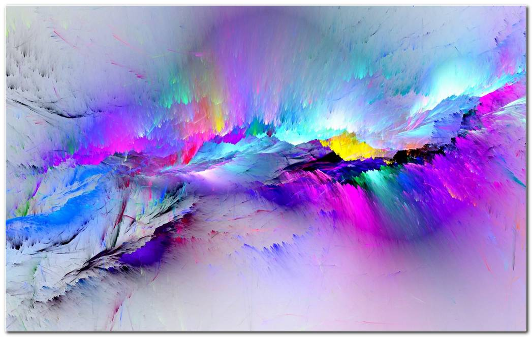 Cool Paint Color Splash Background Wallpaper