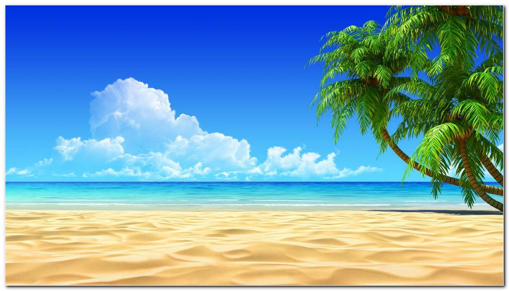 Cool Tropical Nature Wallpaper Background Beach