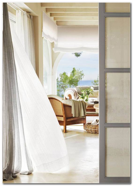 Cortinas Blancas Ideas