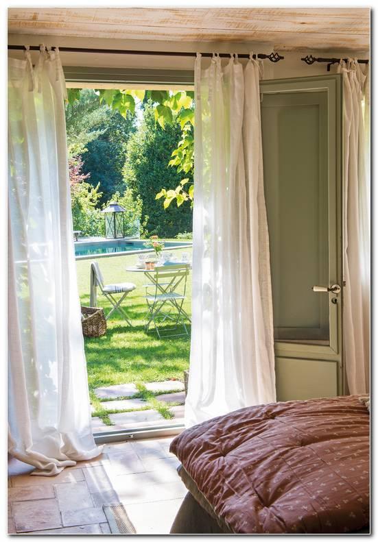 Cortinas De Lino Para Dormitorio
