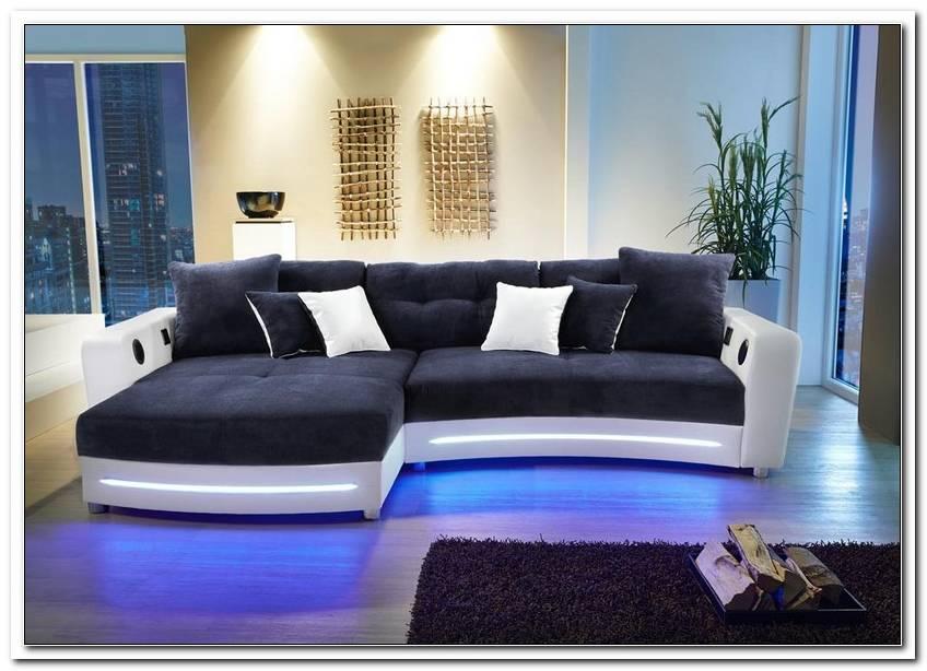 Couch Mit Led Beleuchtung Und Lautsprecher