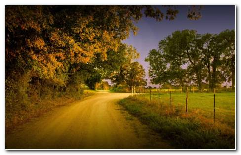 Country Road HD Wallpaper