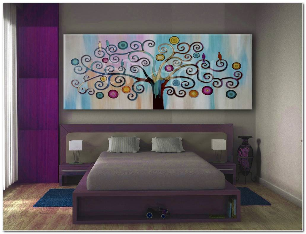 Cuadros Pintados A Mano Para Dormitorios