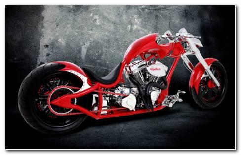Custom Bike Beauty HD Wallpaper