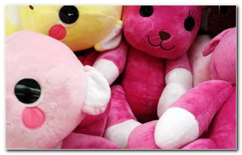 Cute Colorful Toys HD Wallpaper