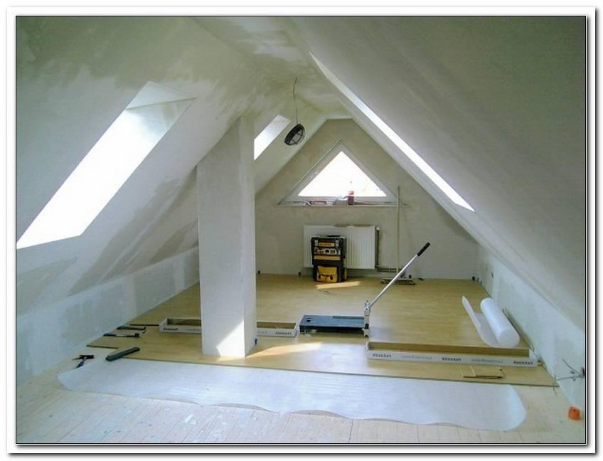 Dachboden Fenster Dreieck