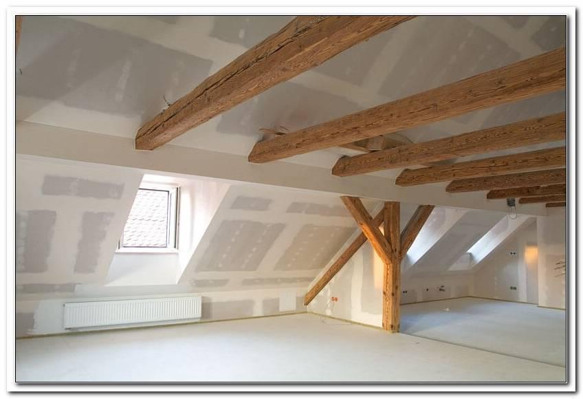 Dachboden Sanieren