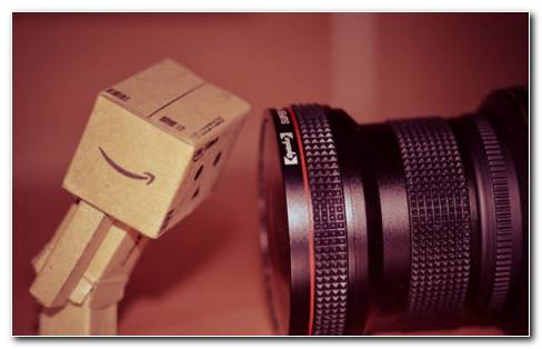 Danbo Looking At Lens HD Wallpaper