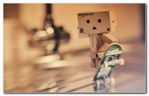 Danbo Papercraft HD Wallpaper