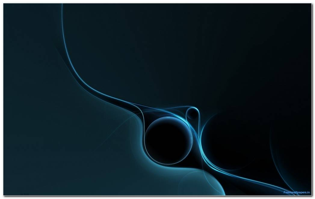 Dark Blue Abstract Curves Wallpapers 1680x1050
