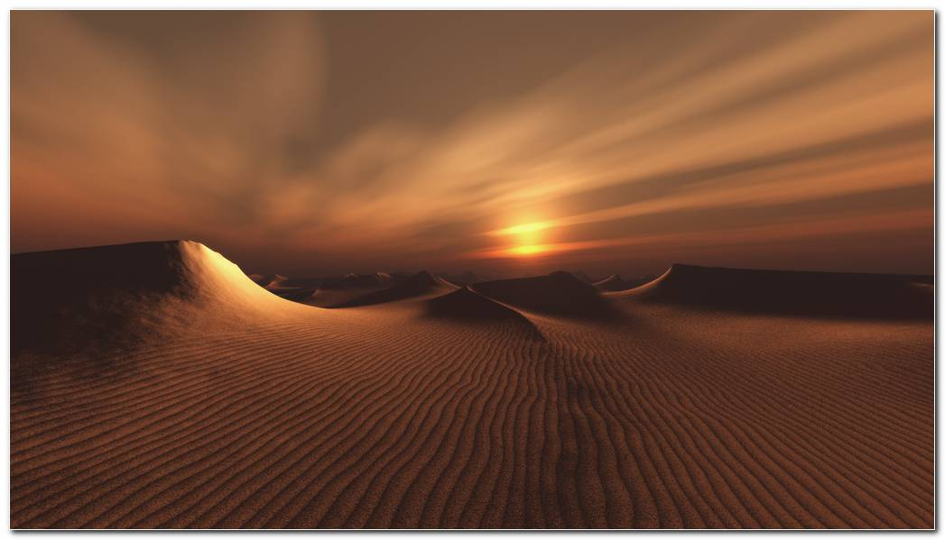 Dark Desert Nature Wallpaper Background