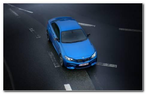 Dark Blue Car Paint HD Wallpaper