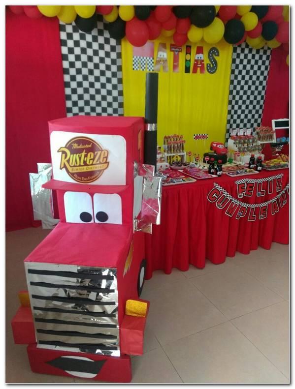 Decoracion Cars Para Fiestas Infantiles