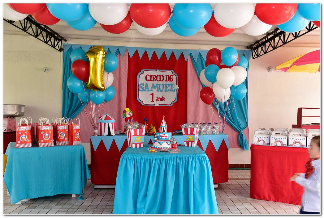 Decoracion Circo Para Fiesta Infantil