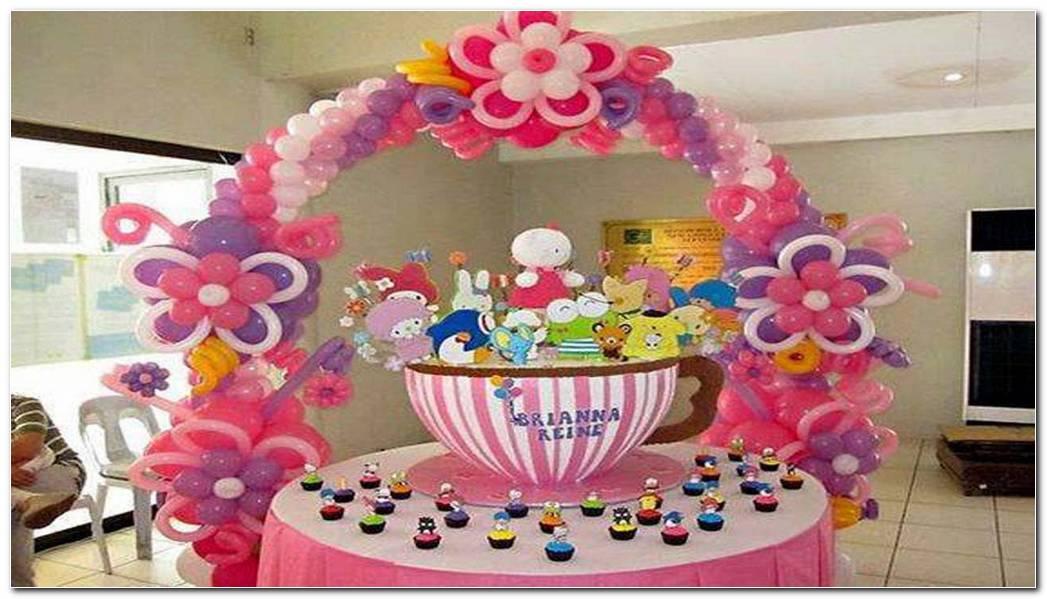 Decoracion Con Globos Fiesta Infantil
