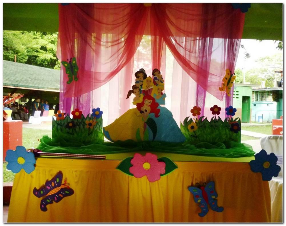 Decoracion Con Telas Para Fiestas Infantiles