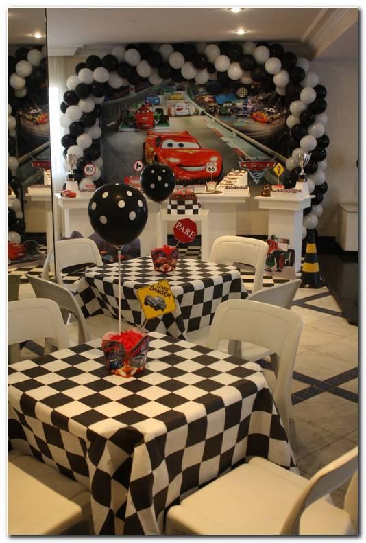 Decoracion De Autos Fiesta Infantil