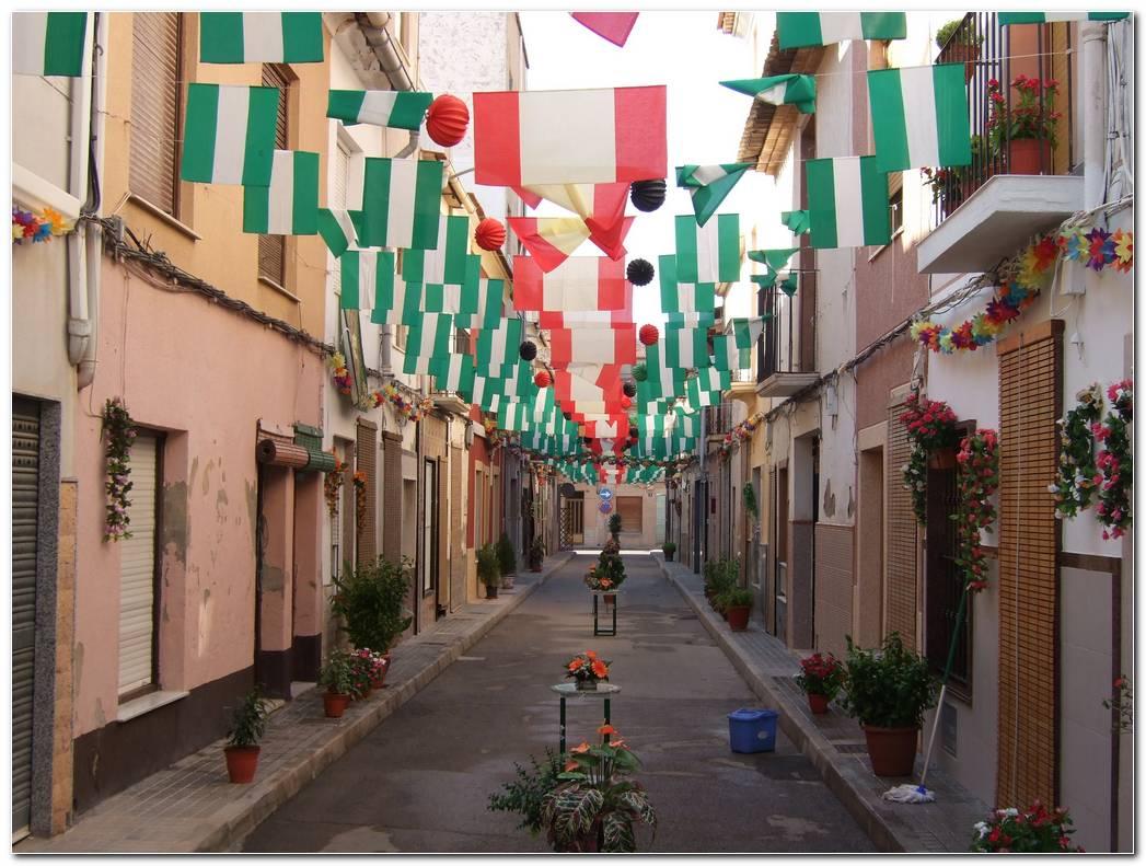 Decoracion De Calles Para Fiestas Patronales