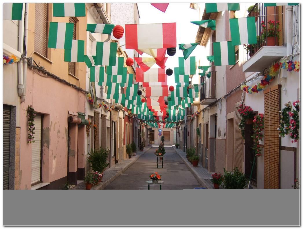 Decoracion De Calles Para Fiestas