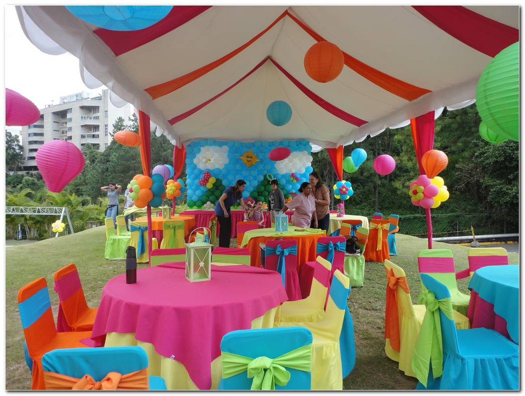Decoracion De Carpas Para Fiestas Infantiles