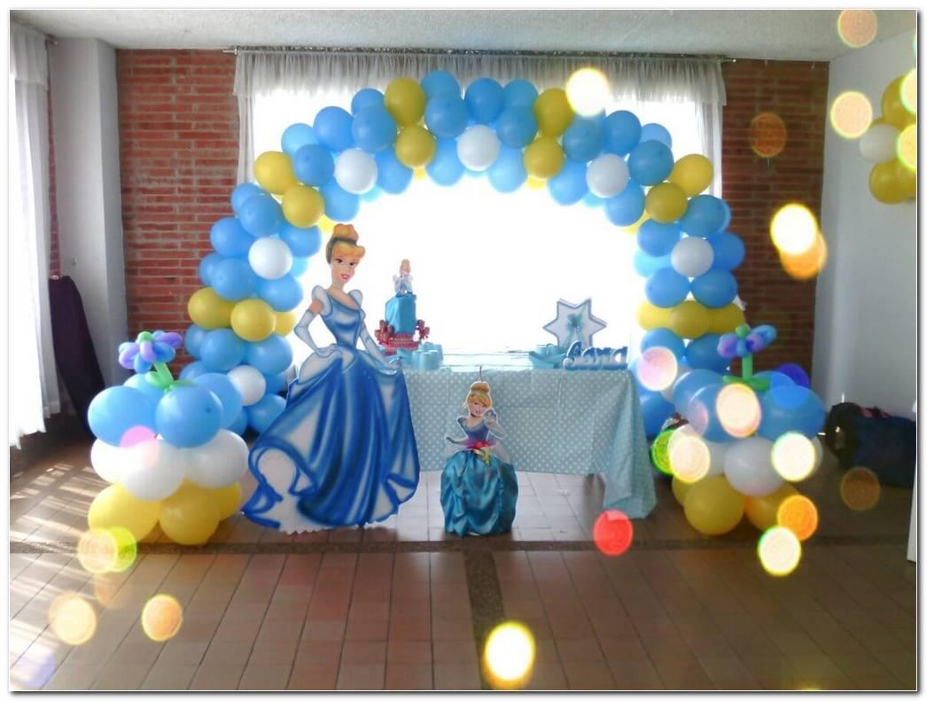Decoracion De Cenicienta Para Fiestas Infantiles