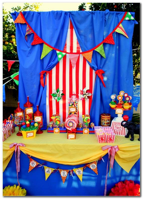 Decoracion De Circo Para Fiesta Infantil