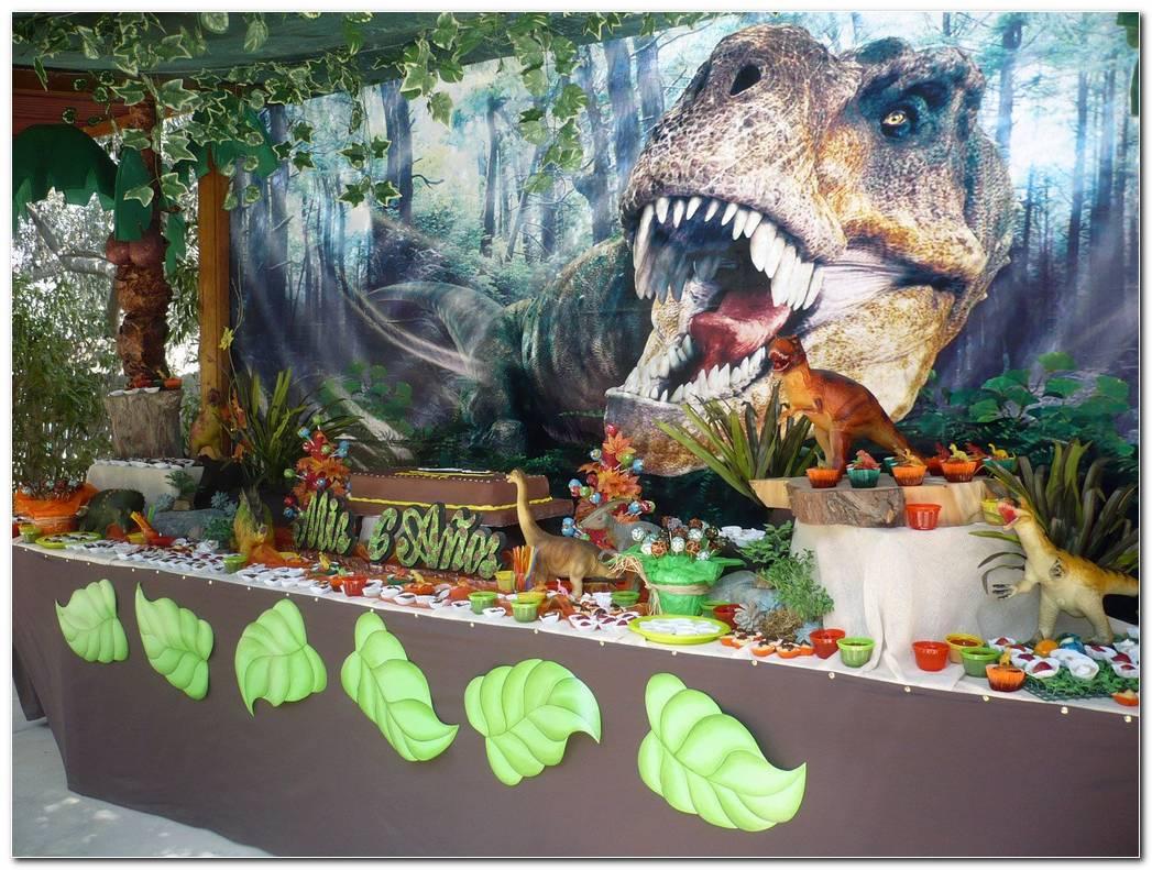 Decoracion De Fiesta De Dinosaurios