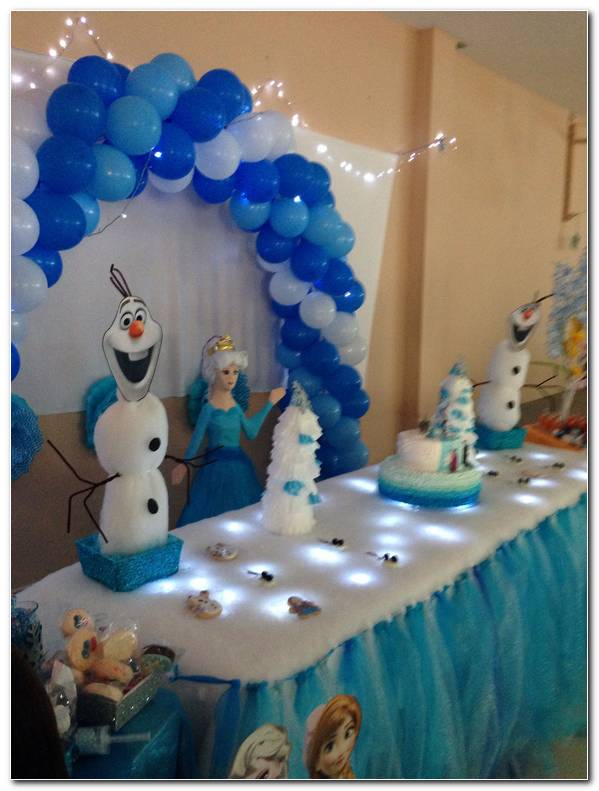 Decoracion De Fiesta De Frozen