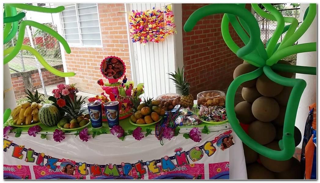 Decoracion De Fiesta De Moana