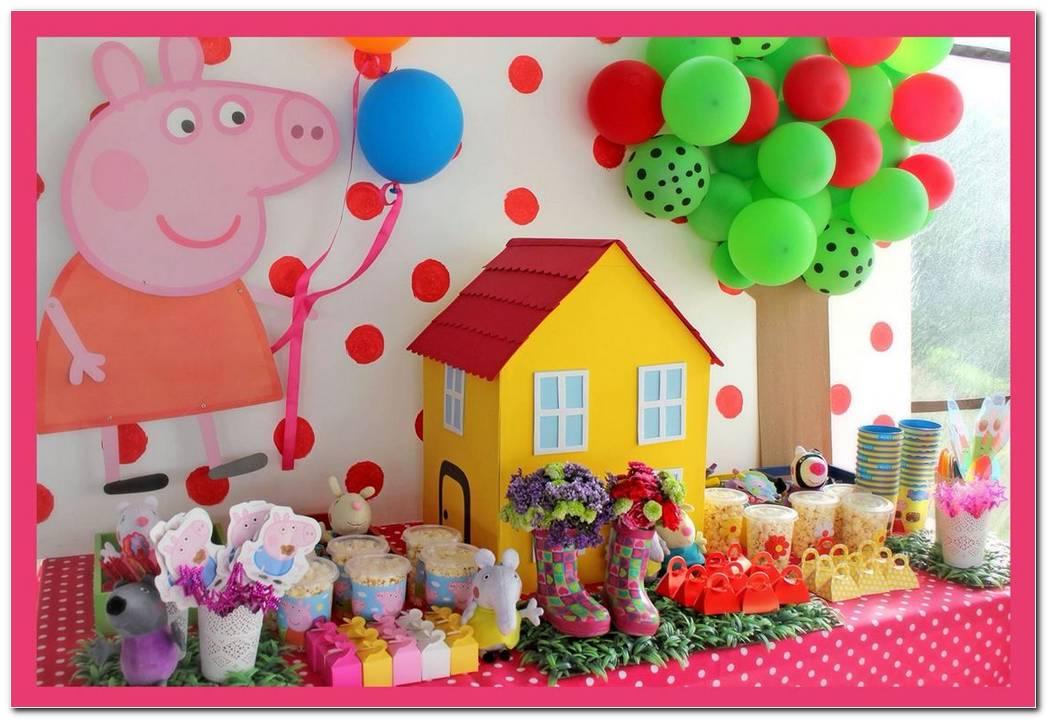 Decoracion De Fiesta De Peppa Pig