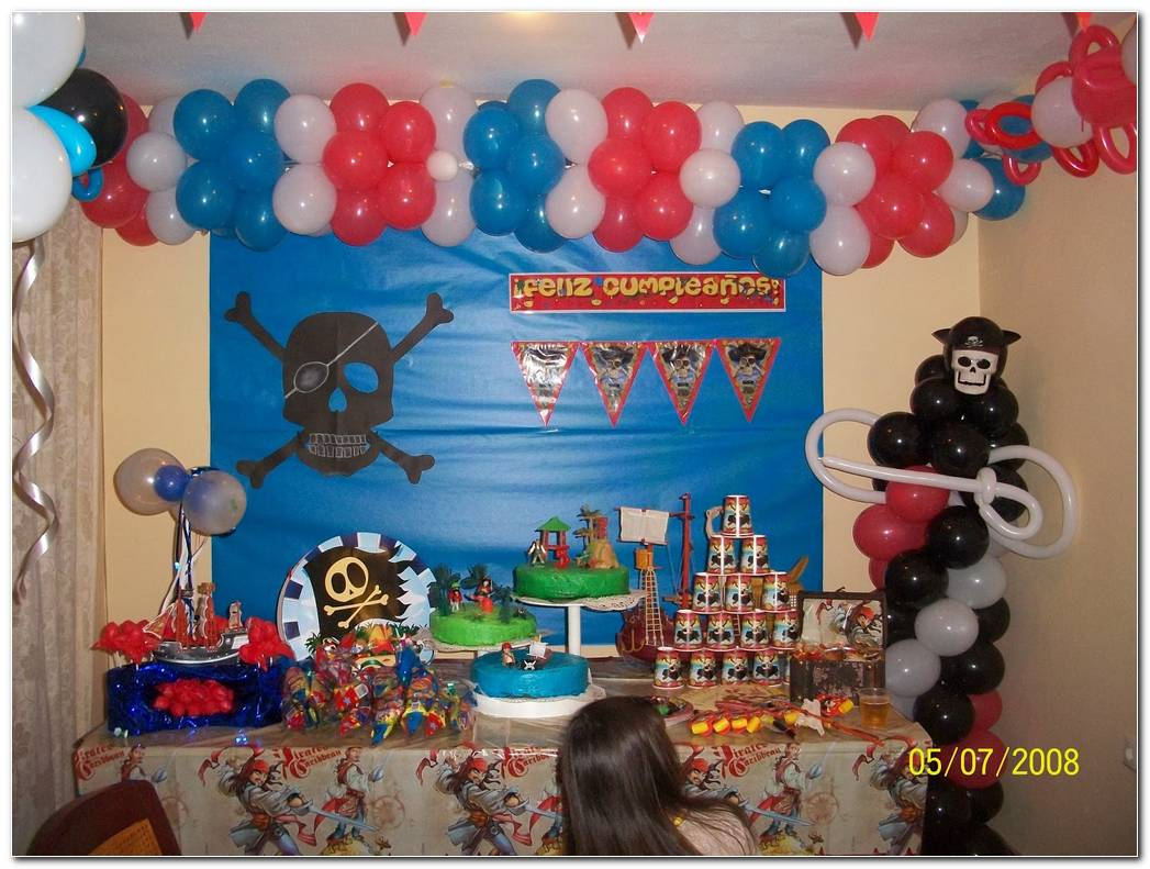 Decoracion De Fiesta De Piratas