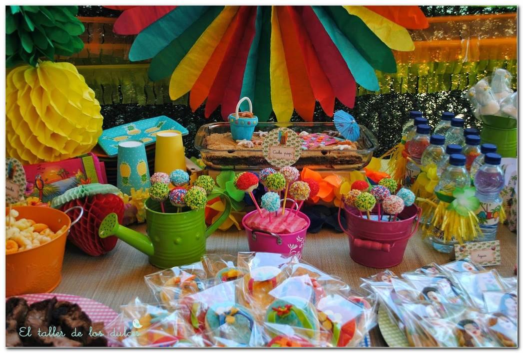 Decoracion De Fiesta Hawaiana Infantil