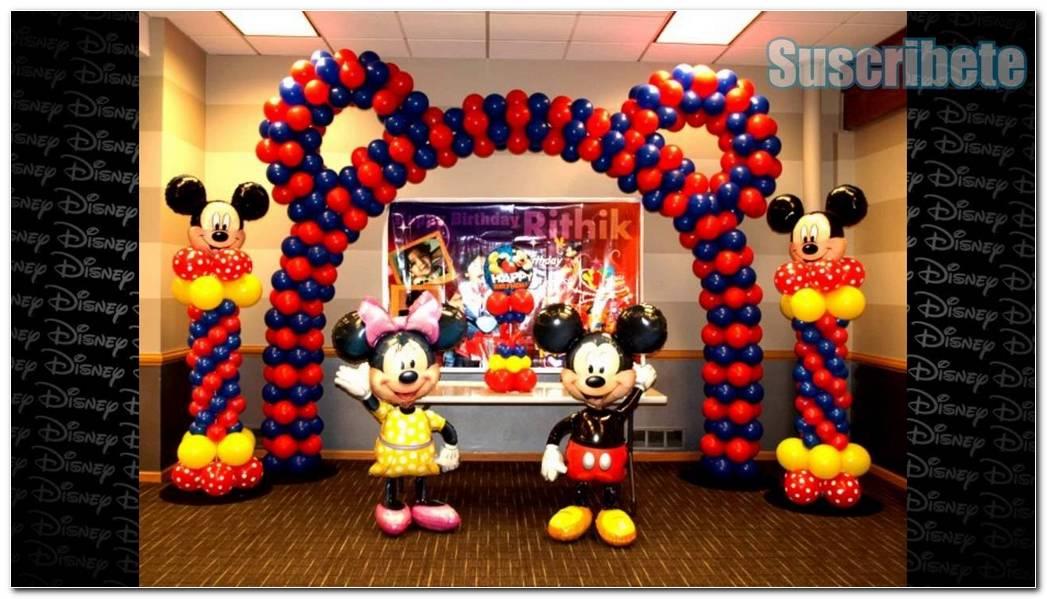 Decoracion De Fiesta Infantil De Mickey Mouse