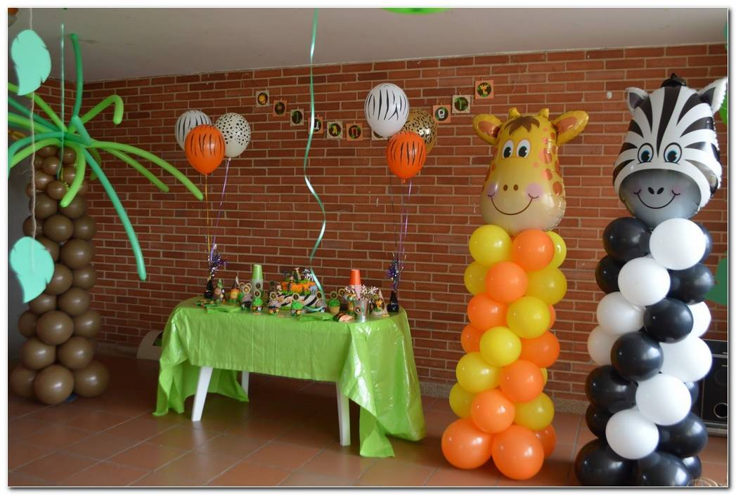 Decoracion De Fiesta Safari