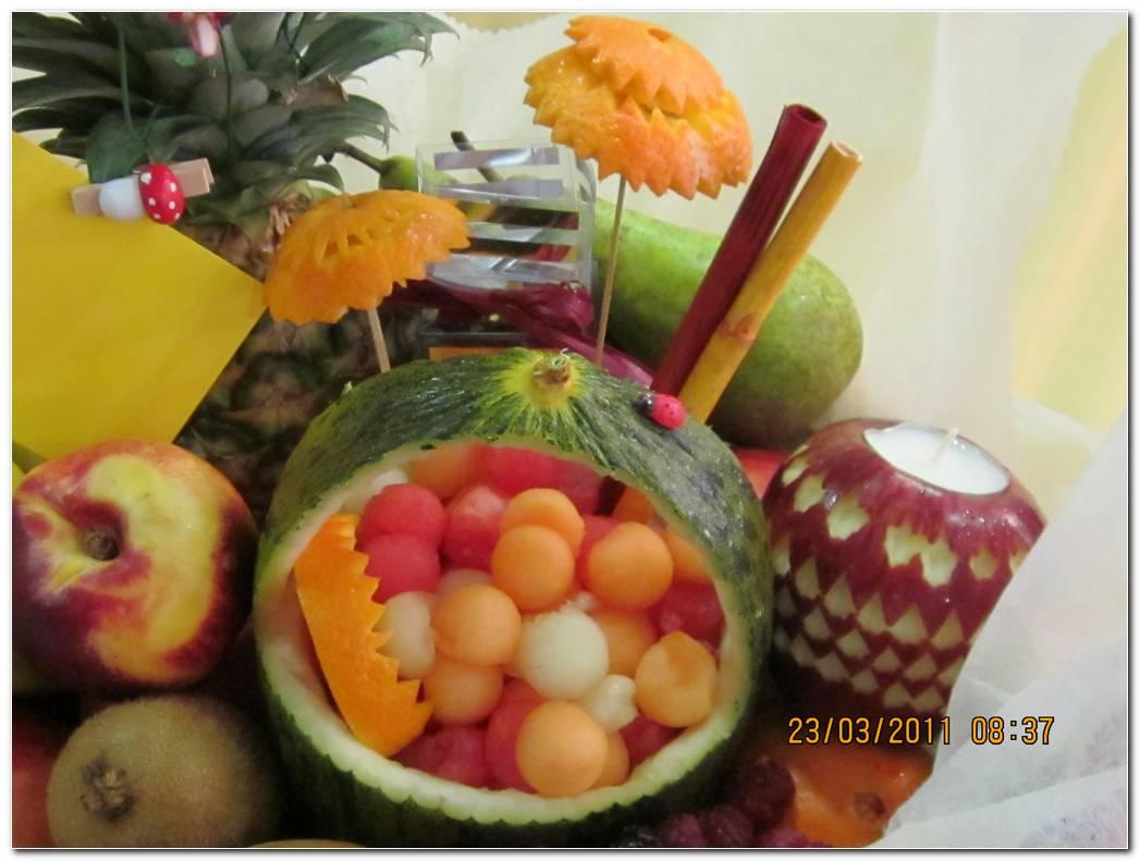 Decoracion De Frutas Para Fiestas
