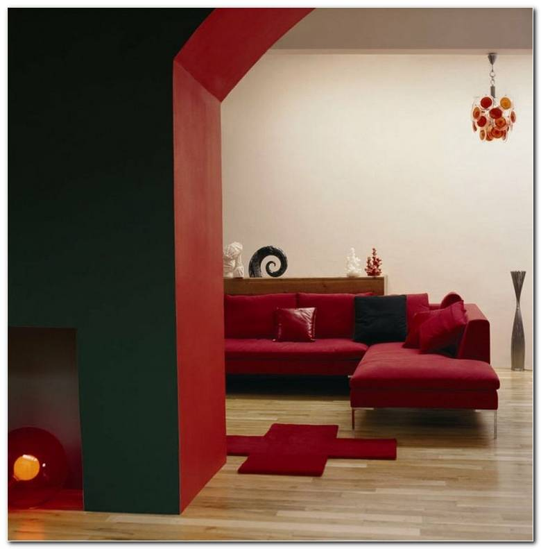 Decoracion De Interiores En Color Rojo