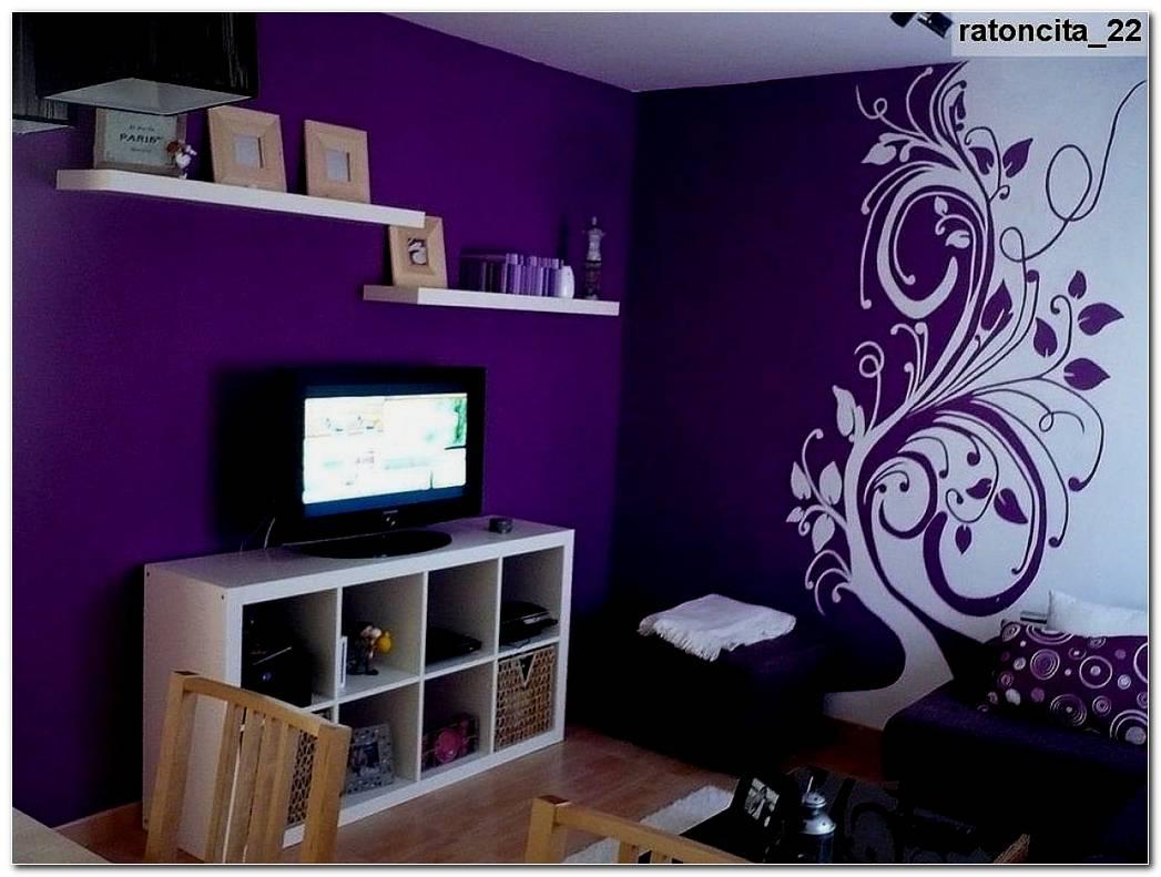 Decoracion De Interiores En Color Uva
