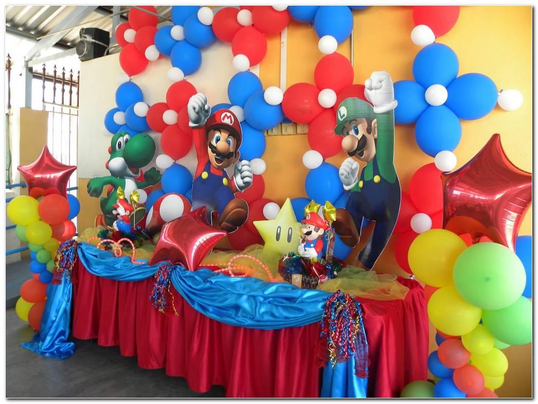 Decoracion De Mario Bros Para Fiesta Infantil