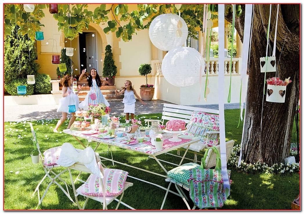 Decoracion De Mesas Para Fiestas En Jardin