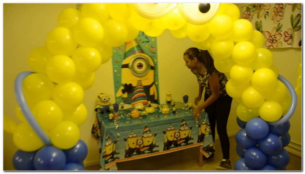 Decoracion De Minions Para Fiestas Infantiles