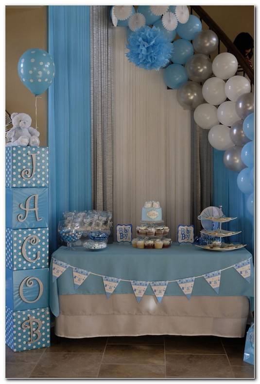 Decoracion Fiesta Baby Shower Ni?o