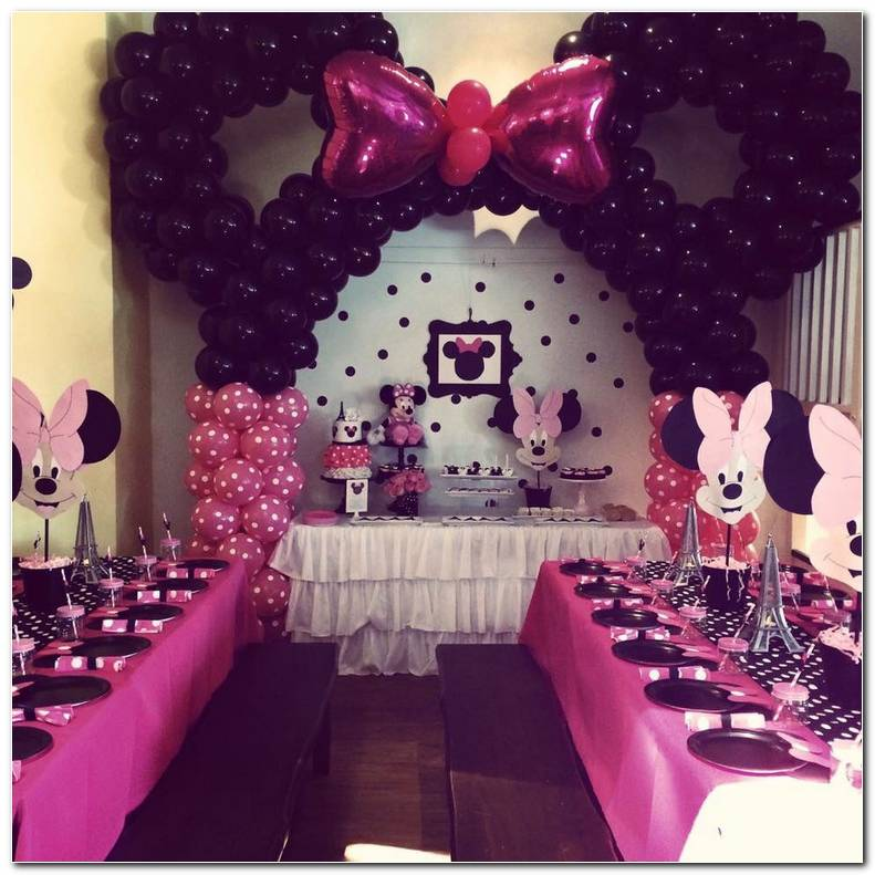 Decoracion Fiesta Cumplea?os Minnie Mouse
