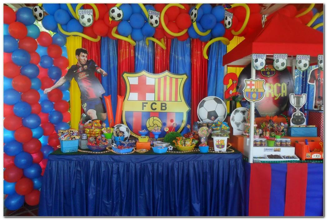 Decoracion Fiesta Futbol Barcelona
