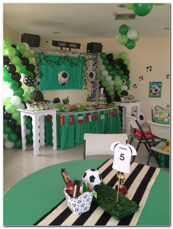 Decoracion Fiesta Futbol Infantil