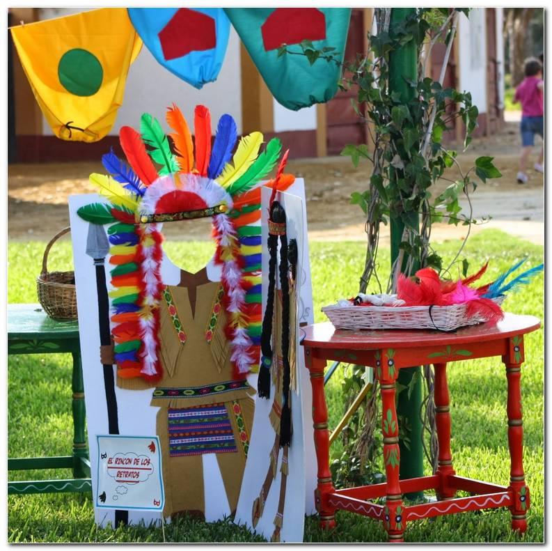 Decoracion Fiesta Indios Y Vaqueros