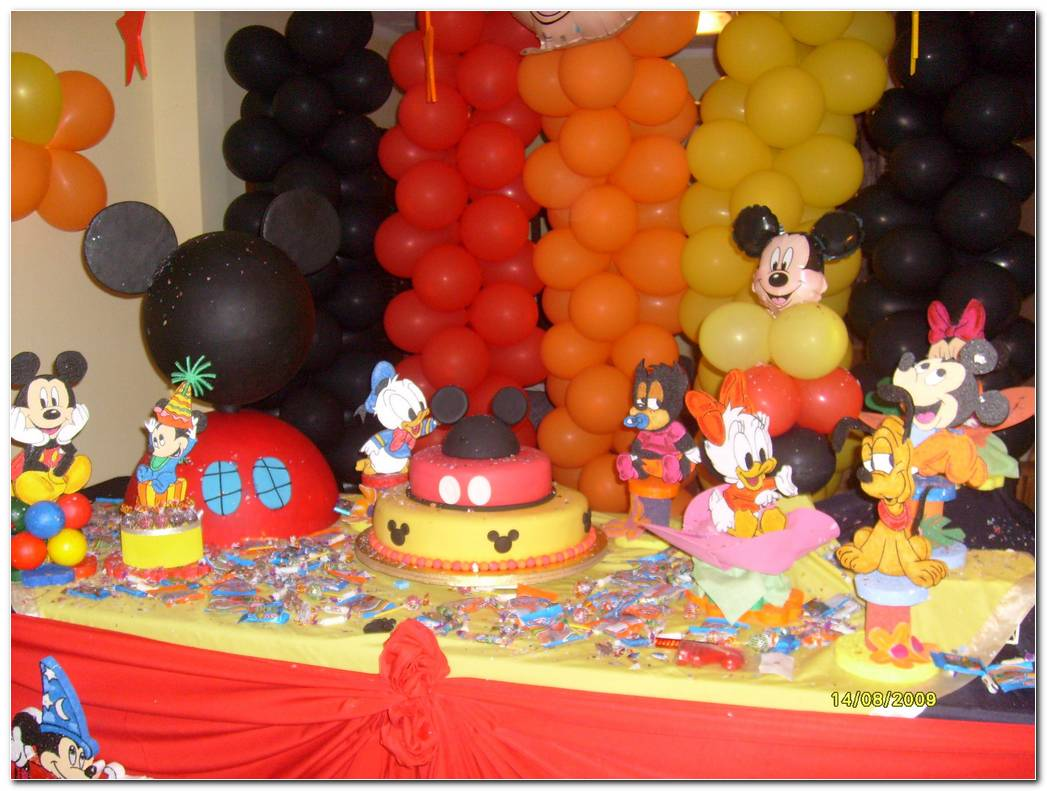 Decoracion Fiesta Infantil Mickey Mouse