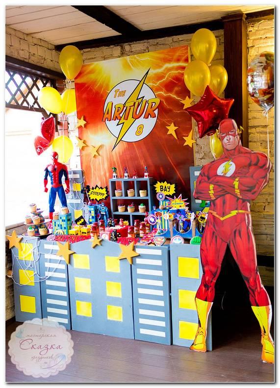Decoracion Fiesta Infantil Superh?roes