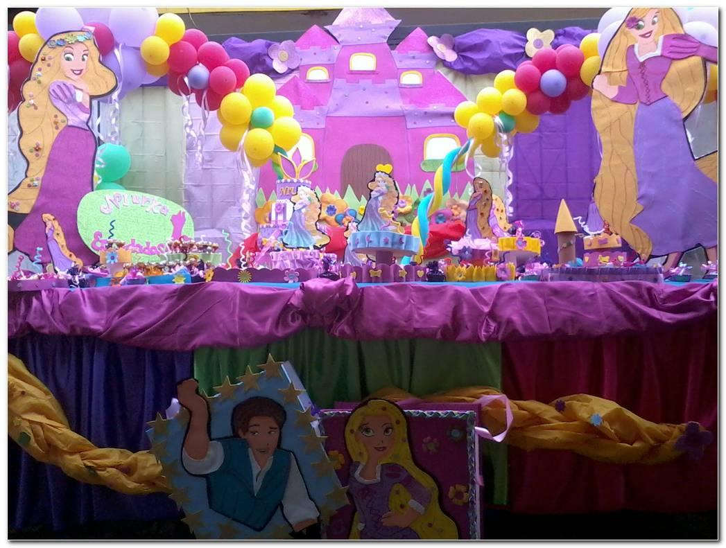 Decoracion Fiesta Rapunzel Enredados