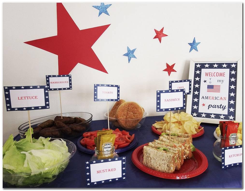 Decoracion Fiesta Tematica Americana